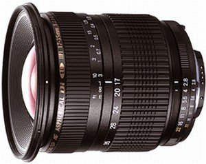 Tamron SP AF 17-35mm 2.8-4 Di LD Asp IF for Sony/Konica Minolta black (A05M/A05S)
