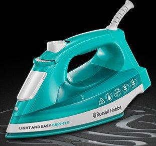 Russell Hobbs Light & Easy Brights Aqua Dampfbügeleisen (24840-56)