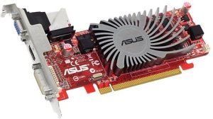 ASUS Radeon HD 5450 Silent, EAH5450 SILENT/DI/1GD3(LP), 1GB DDR3, VGA, DVI, HDMI (90-C1CP20-L0UANABZ/90-C1CP2U-L0UANAYZ)
