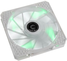 BitFenix Spectre Pro LED weiß/grün, 140mm (BFF-WPRO-14025G-RP)