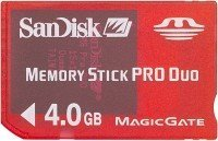 SanDisk Gaming Memory Stick PRO Duo 4GB [PSP] (SDMSG-4096)