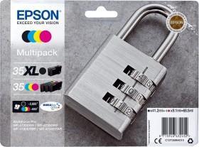 Epson Tinte 35XL BK/35 CMY Multipack (C13T35994010)