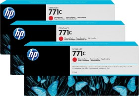 HP Tinte 771C rot, 3er-Pack (B6Y32A)