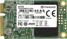 Transcend MSA230S 64GB, mSATA (TS64GMSA230S)