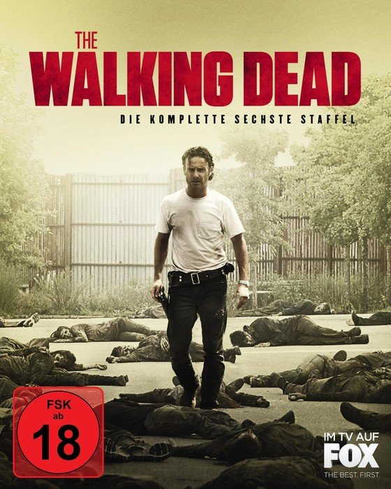 The Walking Dead Tote Staffel 6