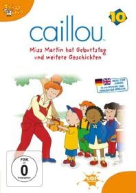 Caillou Vol. 10: Miss Martin hat Geburtstag und weitere Geschichten (DVD)