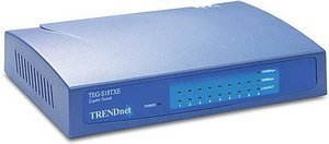 TRENDnet TEG-S18TX(E) 9-Port 10/100/1000Mbit NWay Gigabit Switch