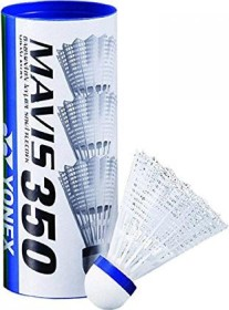 Yonex shuttlecocks nylon Mavis 350 6-pack (various speeds)