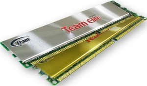 TeamGroup elite DIMM kit 1GB PC3200 DDR CL2.5-4-4-8 (PC400) (TEDR1024M400HC25DC)