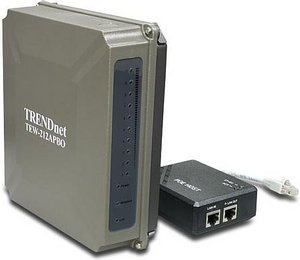 TRENDnet 11Mbit/s Außen-Wireless-AP-Bridge/Router (TEW-212APBO)