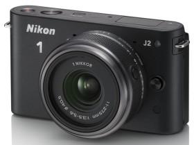 Nikon 1 J2 schwarz mit Objektiv 11-27.5mm 3.5-5.6 (VVA161K005)