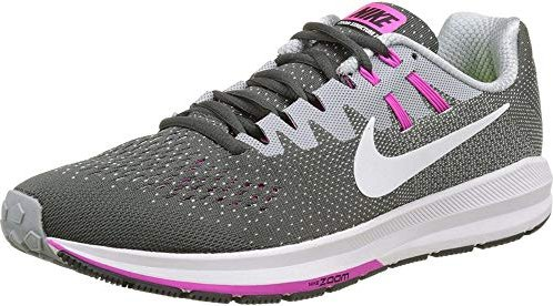 nouveau style 49594 80a54 Nike Air zoom Structure 20 anthracite/wolf grey/fire pink/white (ladies)  (849577-006)