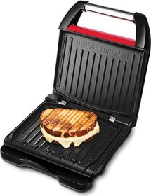 George Foreman Steel Compact fitness grill red (25030-56)