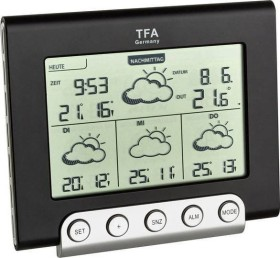 TFA Dostmann Cielo wireless weather station digital (35.5056.01.IT)