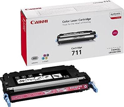 Canon toner CRG-711M purpura (1658B002) -- via Amazon Partnerprogramm