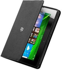 Blackberry leather Journal sleeve for Playbook black (ACC-40278-201) -- The RIM and BlackBerry families of related marks, images and symbols are the exclusive properties of, and trademarks of, Research In Motion – used by permission.