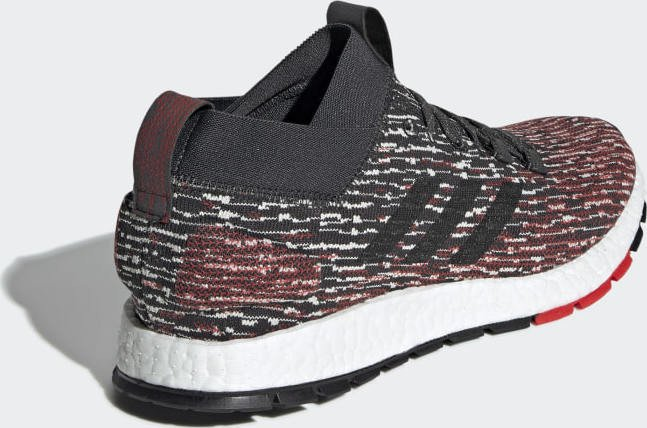 adidas Pure Boost RBL carbon core black active red (men) (F35781) starting  from £ 139.95 (2019)  be17e1756
