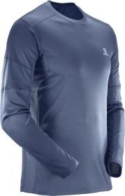 Salomon Agile Shirt langarm dress blue (Herren) ab € 31,18