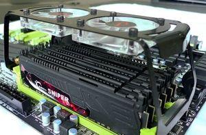 G.Skill Sniper DIMM kit 24GB, DDR3-1600, CL7-8-7-24 (F3-12800CL7T2-24GBSRD)