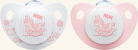 NUK Trendline Baby Rose soother, silicone, Group 1
