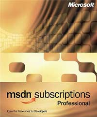 Microsoft: MSDN 7.0 Professional Update - 1 year (PC) (388-04455)