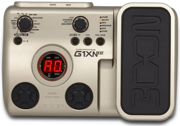 ZoomG1XN guitar multi effects unit