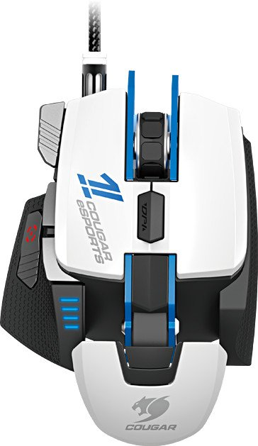 Cougar 700M laser Gaming mouse eSports Edition blue/white, USB (3M700WLW.0001)