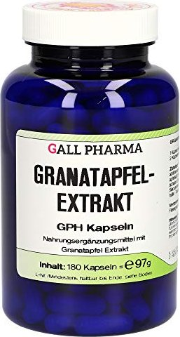 pomegranate extract GPH capsules, 180 pieces