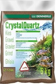 Dennerle Kristall-Quarzkies dunkelbraun 5kg (1744)