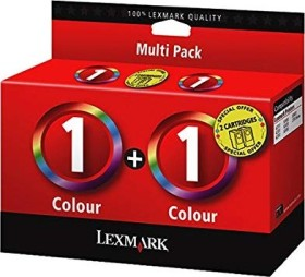 Lexmark Printhead with ink 1 tricolour, 2-pack (80D2955)