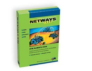 AVM: Netways ISDN 5.0 (angielski) (PC) (20001848)