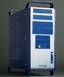 Mercury Midi-Tower blau -- (C) 2004 CWsoft