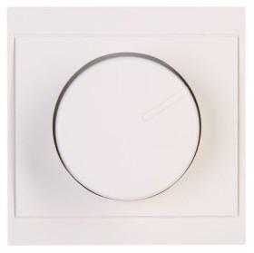Kopp Malta Dimmer-Abdeckung für Druck-Wechseldimmer, weiß (312301187)