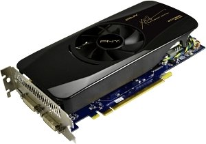 PNY GeForce GTX 560, 1GB GDDR5, 2x DVI, mini HDMI (GF560GTX1GBEPB)