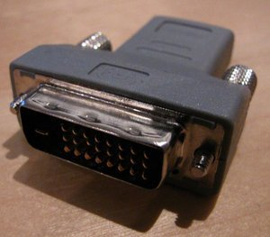 ATI HDMI/DVI adapter for Radeon HD 2000 series (various manufacturers) -- http://bepixelung.org/7752