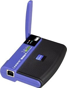 Linksys WUSB54G Wireless Adapter, 54Mbps, USB 2.0