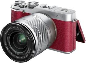 Fujifilm X-A1 rot mit Objektiv XC 16-50mm 3.5-5.6 OIS