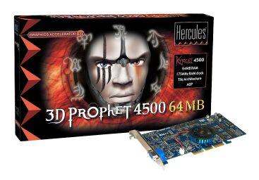 Guillemot Hercules 3D Prophet 4500 Myst Edition, Kyro II, 64MB, AGP, retail z Myst III (4780163)