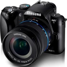 Samsung NX11 schwarz mit Objektiv 18-55mm i-Function