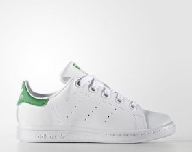 adidas Stan Smith ftwr white/green (Junior) (BA8375)