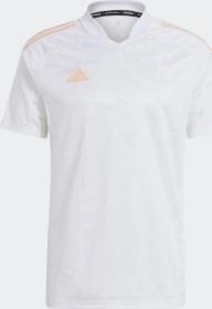 adidas Condivo 21 shirt short-sleeve white/glow pink (GL7741)
