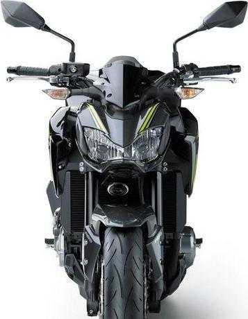 Kawasaki Z900 Schwarz Modelljahr 2017