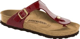Birkenstock Gizeh magic snake bordeaux (Damen) (1013629)