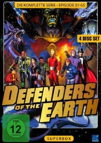 Defenders of the Earth Box (Folgen 1-65) (DVD)