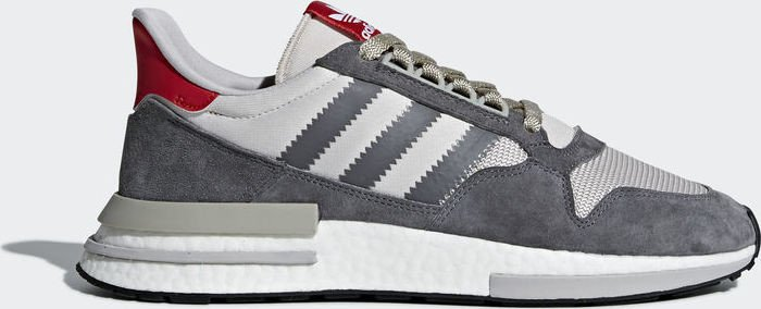 premium selection 5f3a6 752ca adidas ZX 500 RM grey four ftwr white scarlet (Herren) (B42204
