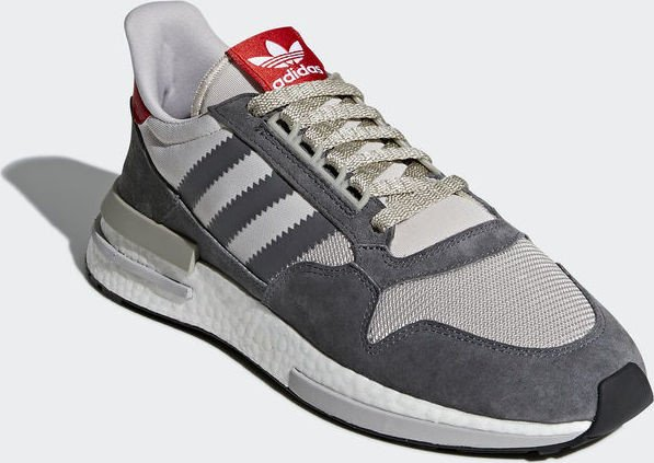 a1d6a25c35b66 adidas ZX 500 RM grey four ftwr white scarlet (men) (B42204) starting from  £ 87.55 (2019)