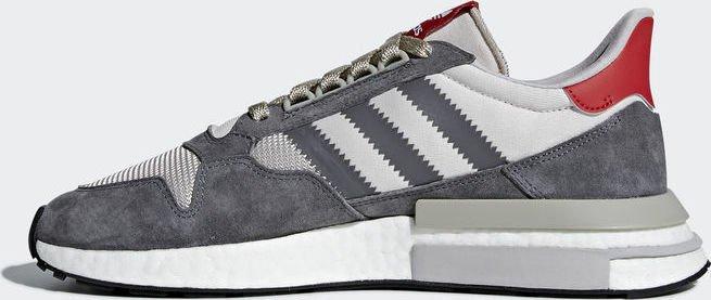 sports shoes d6894 41af3 adidas ZX 500 RM grey fourftwr whitescarlet (męskie) (B42204) od PLN  449,99 (2019)  Porównanie cen Cenowarka.pl Polska