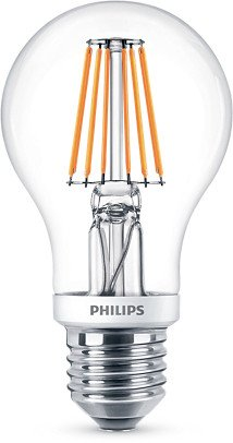 philips classic led birne e27 7 5w 827 dimmbar 575178 00. Black Bedroom Furniture Sets. Home Design Ideas