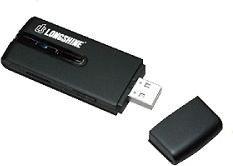 Longshine LCS-8133, 2.4GHz/5GHz WLAN, USB-A 3.0 [Stecker]