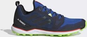 adidas Terrex Agravic glory blue/core black/signal green (Herren) (FV4577)